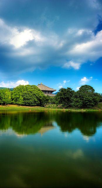 東大寺(東大寺) Todai-ji Temple, Nara, Japan