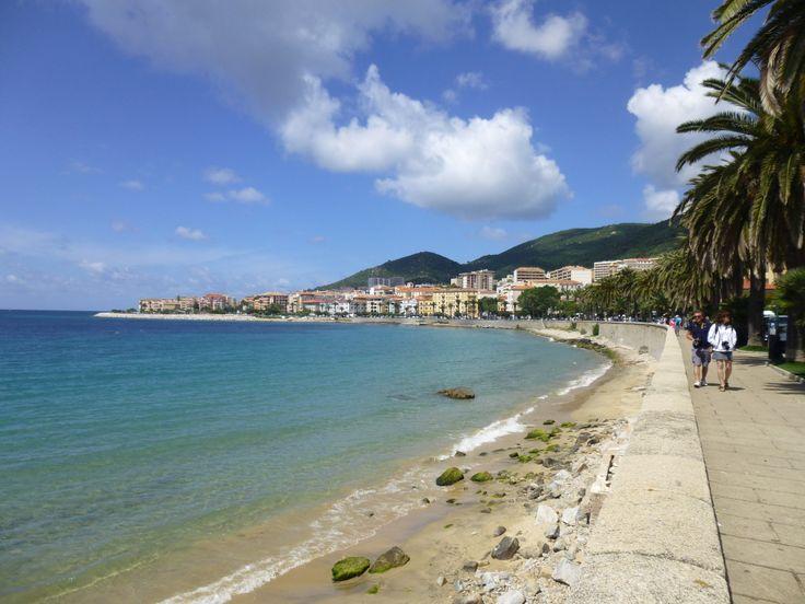 Ajaccio, Corsica. Very pretty town and birthplace of Napoleon Bonaparte