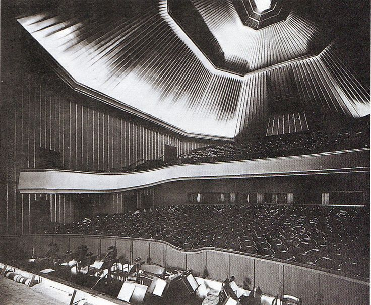 Berlin, Hardenbergstraße, Kino Capitol, Hans Poelzig, 1925.