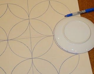 How to trace out repeating circle pattern