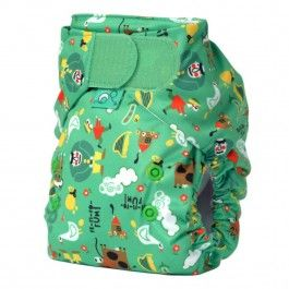TotsBots EasyFit All-in-One Cloth Diaper #NatureBumz