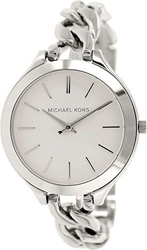 Michael Kors Slim Runway White Dial Stainless Steel Ladies Watch MK3279 Michael Kors http://www.amazon.com/dp/B00LTD67C2/ref=cm_sw_r_pi_dp_nx4Fvb04BYDJT