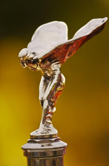 1928 Rolls-Royce Phantom I Sedenca de Ville Hood Ornament - Jill Reger - Photographic prints for sale