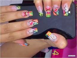 superacion: imagenes de uñas decoradas