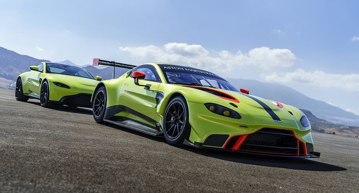 Aston Martin's new Vantage has a sister – and she's a bit racy | Classic Driver Magazine