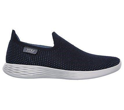 Skechers Women's You Define Slip On Sneakers (Navy/Blue)