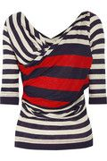 Vivienne Westwood Anglomania priestess striped jersey top