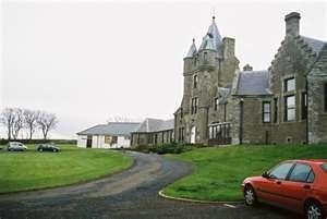 Dunbar Castle, where my daughter was born, Thurso Scotland..