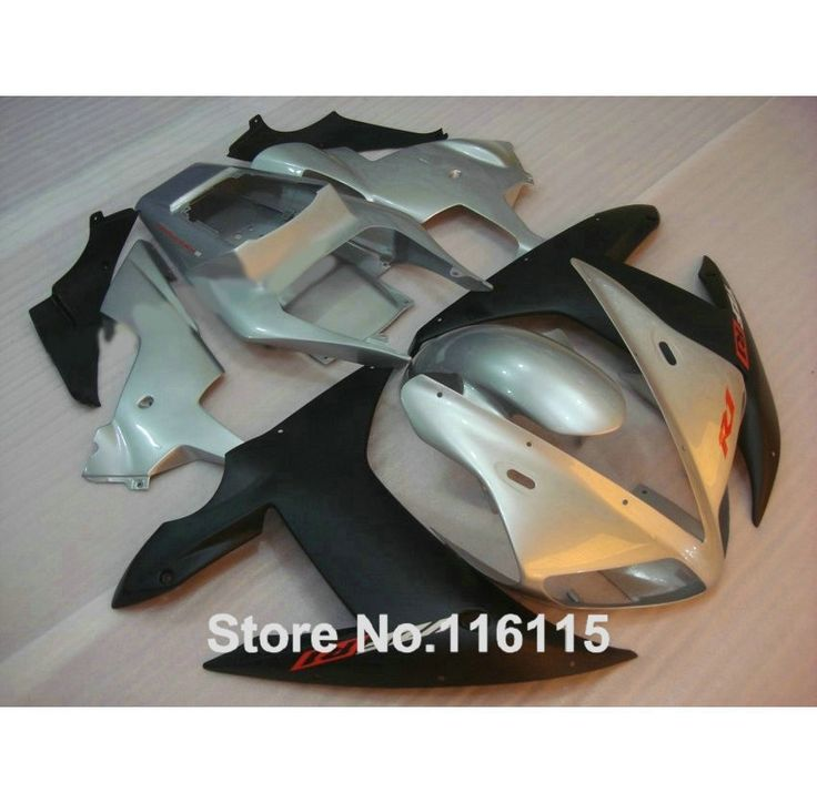 342.00$  Watch here - http://aiwli.worlditems.win/all/product.php?id=32636061758 - Fairing kit for YAMAHA R1 2002 2003 matte black silver fairings Injection molding YZF R1 02 03 full set body kits YZ31