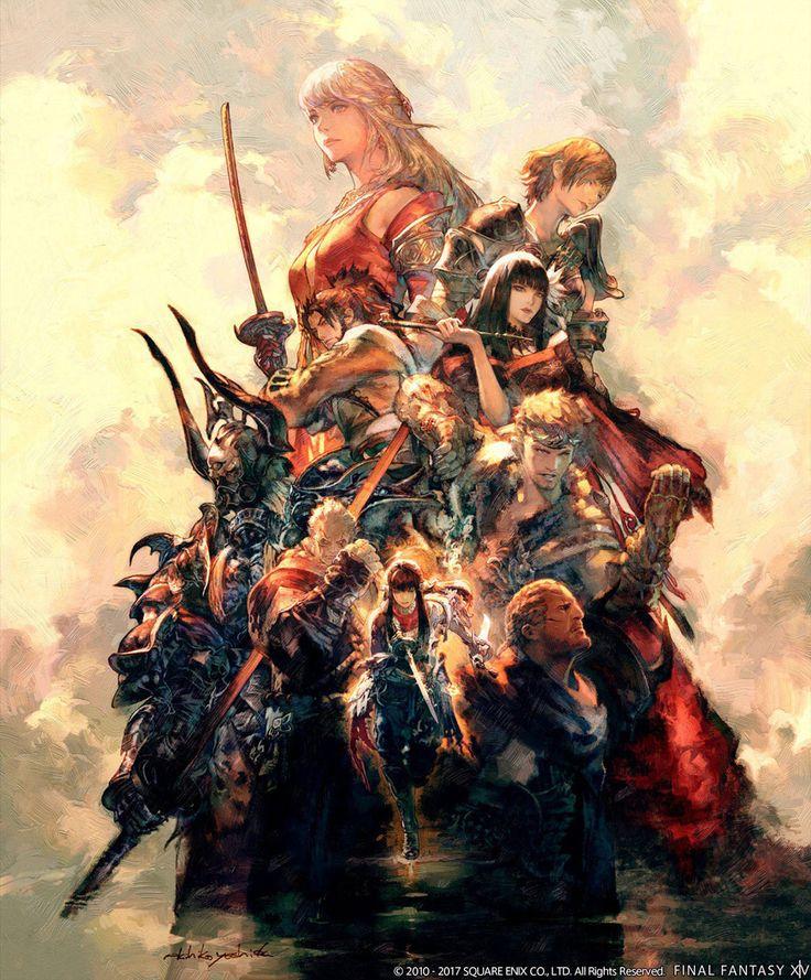 Promo Artwork from Final Fantasy XIV: Stormblood