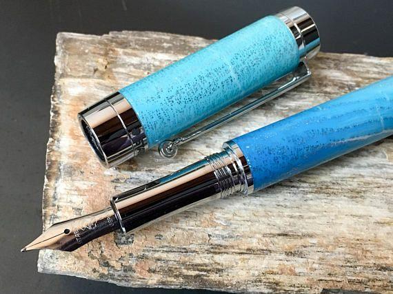 Fountain Pen Handmade Pen Polymer Clay Pen Custom Pen