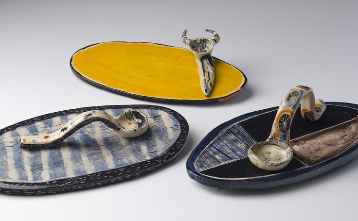 Vanessa Anastasopoulou, ceramic platters and spoons