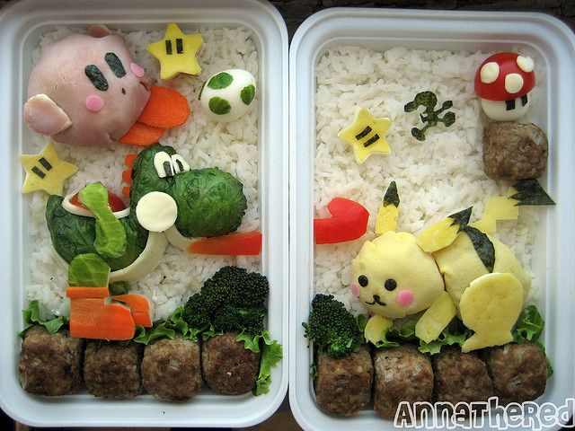 Bento #15: Super Smash Bros. Brawl! by AnnaTheRed (it has instructions!)