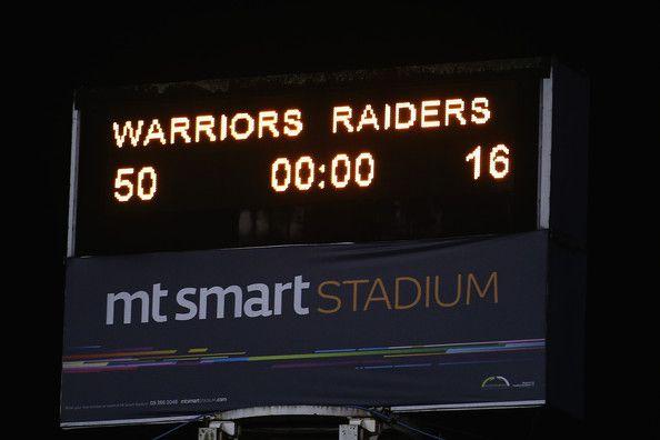 2013 Round 25 Canberra Raiders V Warriors