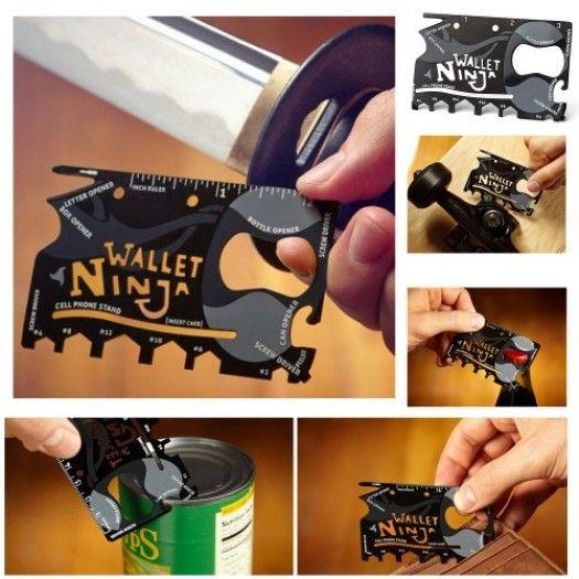 Ninja Wallet 18 Fonksiyonlu İhtiyaç Kiti