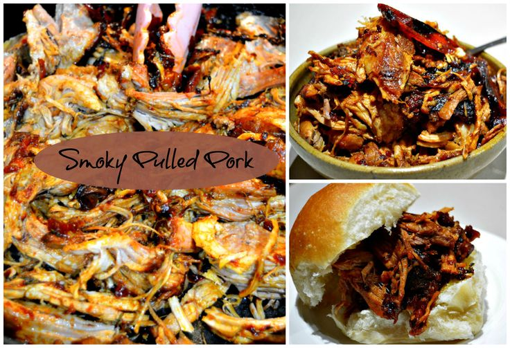 Taste the flavours of maple syrup, malt vinegar and bourbon in this delicious slow-cooked Smoky Pulled Pork...