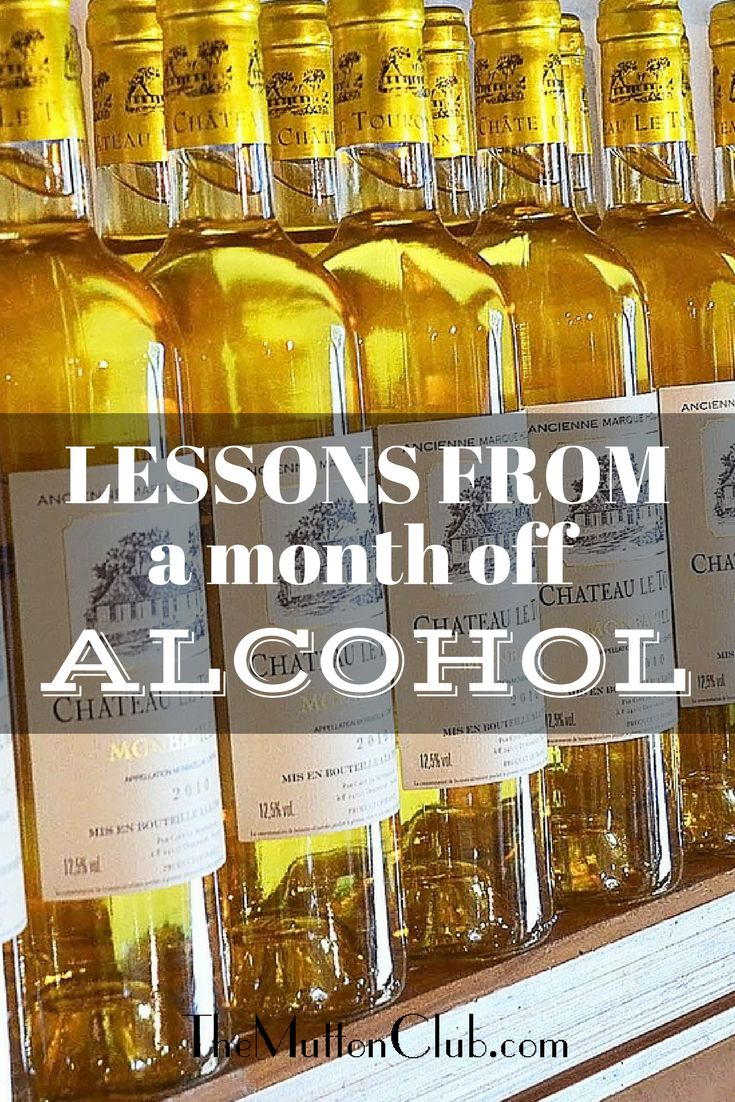 Rachel Lankester confesses to being the anonymous writer of the Month off Alcohol Diary and tells us the lessons she learnt.