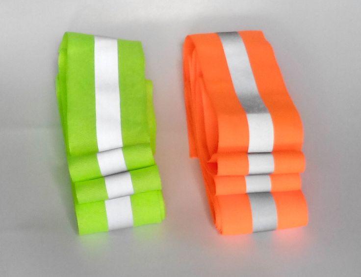 NEW! 50 мм х 15 мм * 3 М/много, оксфорд светоотражающие ткани швейная лента, сшитые на отражательная лента для безопасности одежды, бесплатная доставка