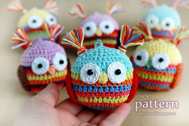 New Pattern – Crochet Christmas Ball – OWL