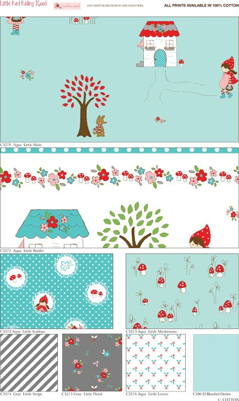 Little Red Riding Hood ~ Aqua Tasha Noel Soon to be in Stock this March 2013!