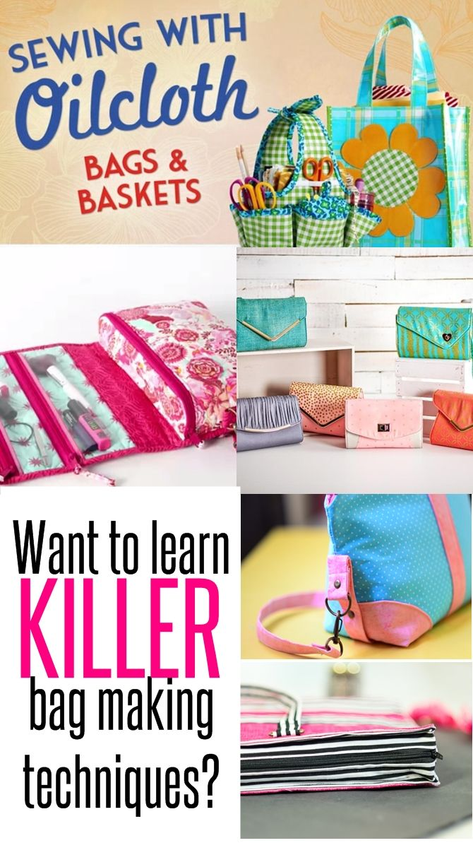 Want to learn killer bag making Techniques to take your bag to the next level of awesomeness? Check out this list of classes that you can take ONLINE to hone your bag making skills. Included in the list are classes for sewing clutch, travel organizers, weekenders and several others which get into the nitty gritty details of sewing the PERFECT bag. READ NOW!