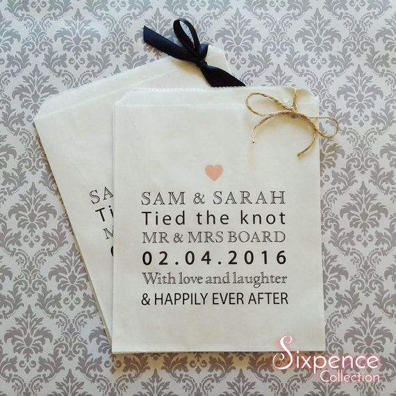 Personalised Love Laughter Happily Ever After Wedding White
