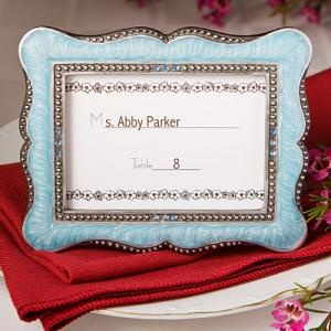 Victorian Name Card Holder for wedding table...However, I think instead of doing name cards, I'm going to use pictures of the wedding party with me or my fiance, and they will find their seats that way...then they can keep it for later if they want.