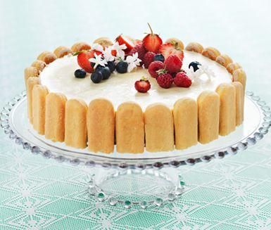 Summer Cake Recipe (use gluten-free biscuits)