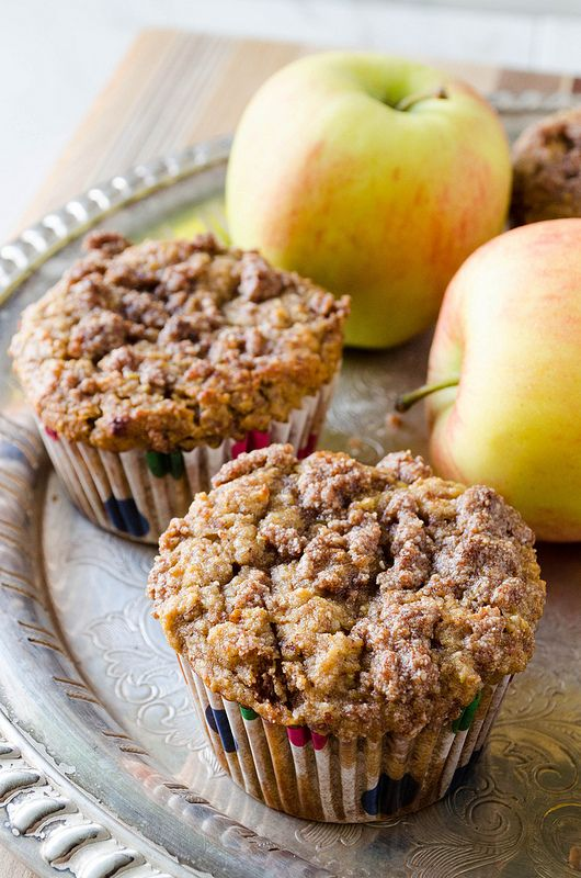 Apple Streusel Muffins (Gluten Free)