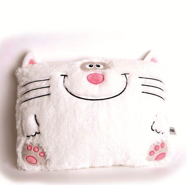 Подушка игрушка кот своими руками, выкройка, идеи