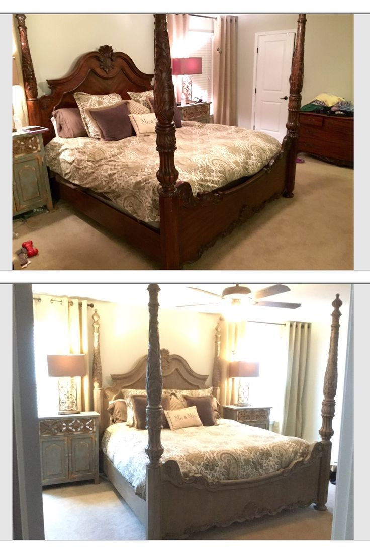 King Bed Bedroom Set: 17 Best Ideas About Chalk Paint Bed On Pinterest