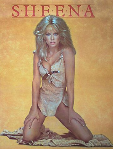 Tanya Roberts as Sheena (1984): Movie Posters, Fave Movies, Sheena, Queen Of, Favorite Movies, Jungle 1984, Film Posters