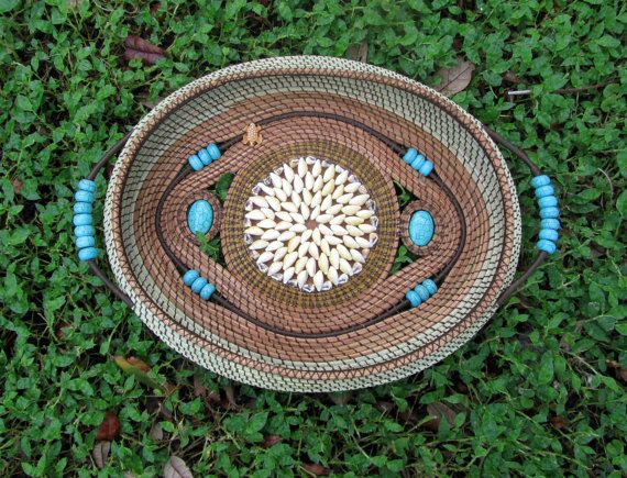 Basket Weaving Ornaments : Best images about pine needle baskets on