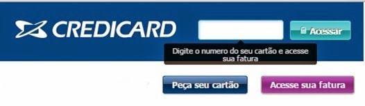 passo a passo para emitr segunda via de fatura credicard: http://www.2viacartao.com/2015/05/credicard-cartoes-mastercard-visa-2via.html
