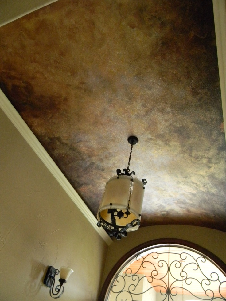 Another gorgeous faux ceiling!