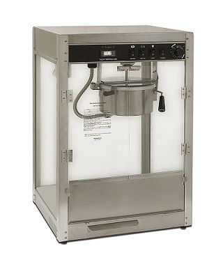 HTD Canada 8 oz Silver Screen Professional Popcorn Machine