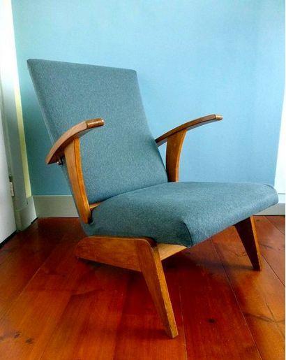 Unieke jaren 50 design fauteuil (Gelderland, Deens, Pastoe