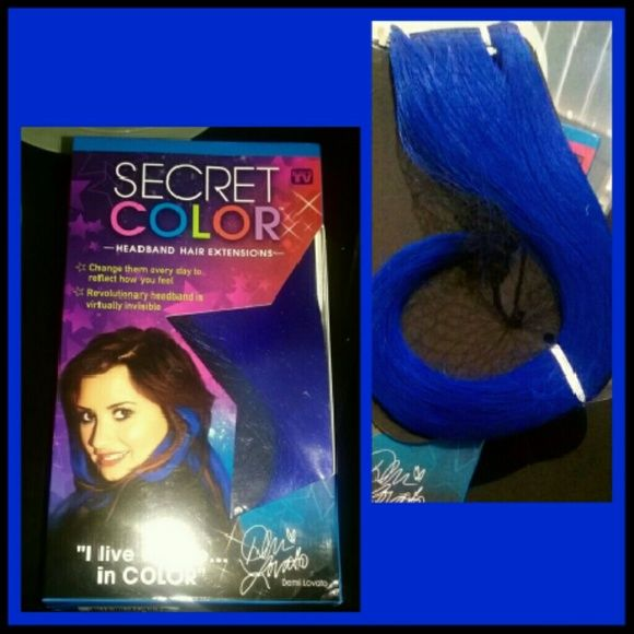 BLUE Hair Extensions NEW ROYAL BLUE HAIR EXTENSIONS. HEADBAND. CAN BE CURLED & FLAT IRON heat should not exceed 320? Makeup