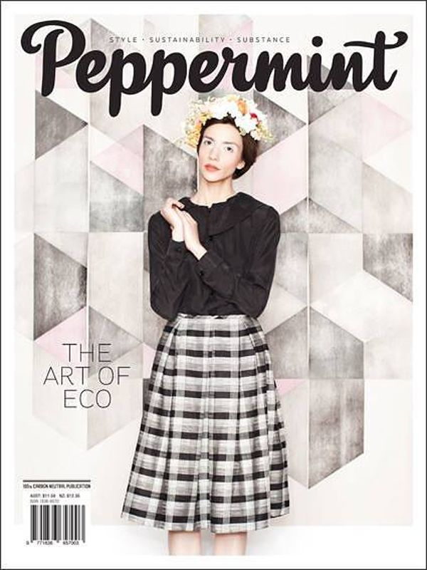 Peppermint Magazine cover