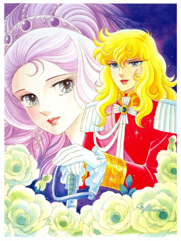 """Art of Marie Antoinette  Lady Oscar from """"Rose Of Versailles"""" series by manga…"""