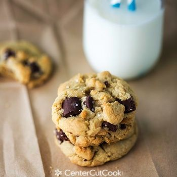 Salted Brown Butter Chocolate Chunk Cookies are just oozing with ...