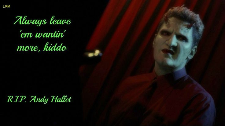 Lorne ( Andy Hallet ) from Angel