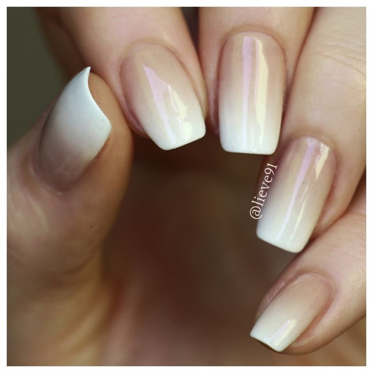 French Ombre  Lieve91   Nail art   Pinterest   Ombre, Sns ...