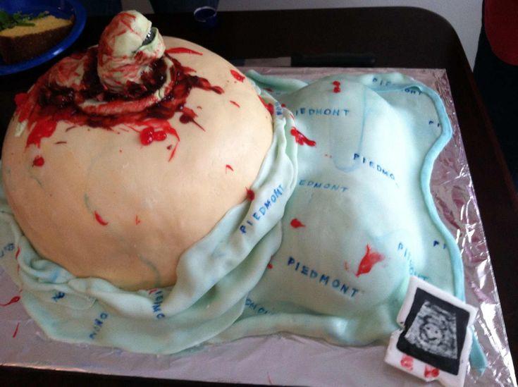 Gâteau parfait pour un shower de bébé