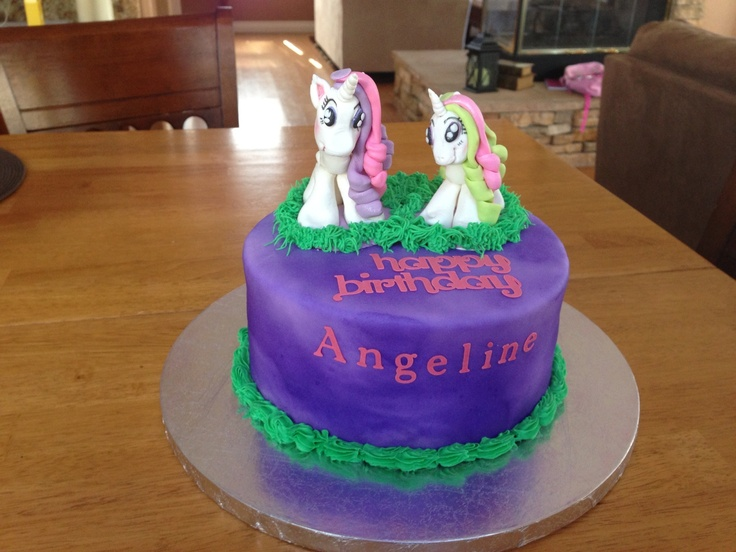 Pictures My Little Pony Cakes