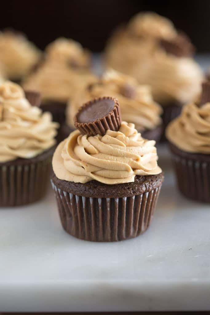 Reese's Peanut Butter Cupcakes