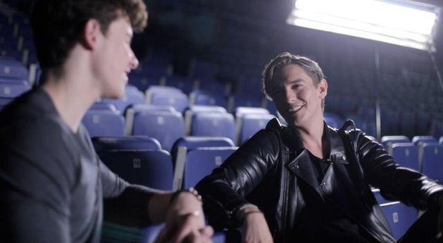 """Shawn Mendes habla con Xavi Martínez en un nuevo episodio de #Real: Shawn Mendes: """"A la gente le encanta verte crecer, pero todavía más verte caer"""" Go see it!! It was filmed in Madrids arena"""