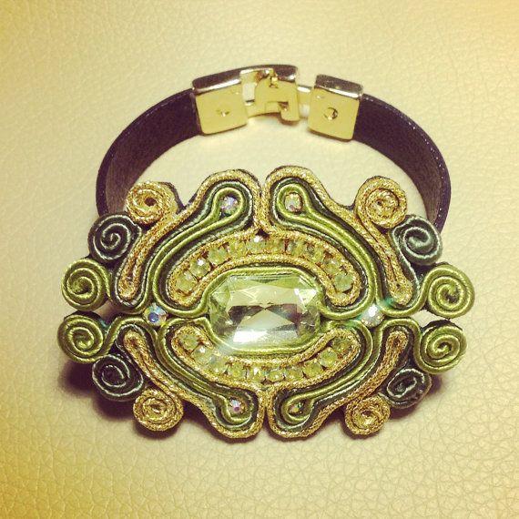 Original Soutache Bracelets Custom Made by by LittleVeniceDesign
