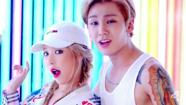 "4MINUTE's Hyuna featuring BTOB's Ilhoon Comeback with Track ""Because I'm..."