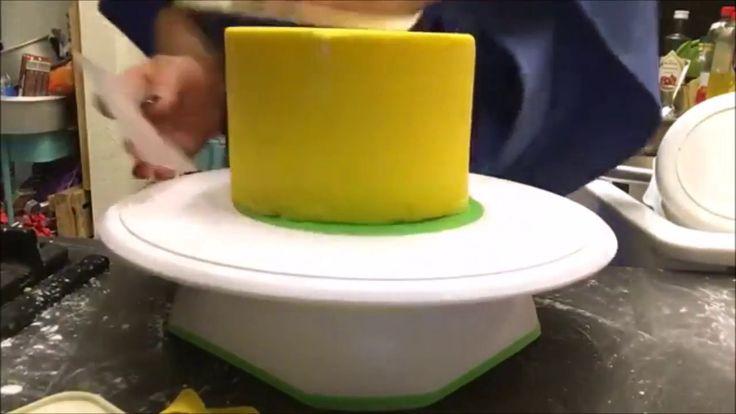 Funcakes banános fondant massza teszt 40 fokban